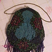 Lovely Old Beaded Bag