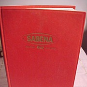 Sabena Belgian World Airlines Book