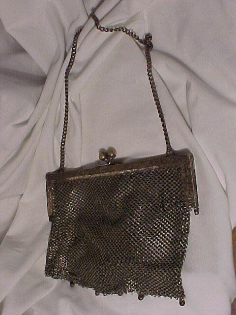 Mesh Flapper Bag
