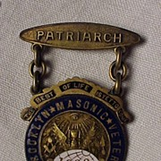 Brooklyn Masonic Pin 1888