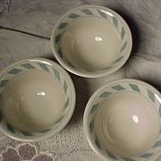 Vintage Syracuse China Custard Cups