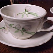 Shenango Dogwood Cups, Saucers