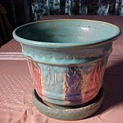 SALE PENDING Beautifully Colored Planter