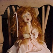 Vintage Cernit Doll