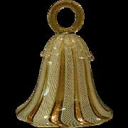 Venetian glass Murano lattacino bell
