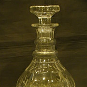 Stuart crystal Carlingford decanter and stopper