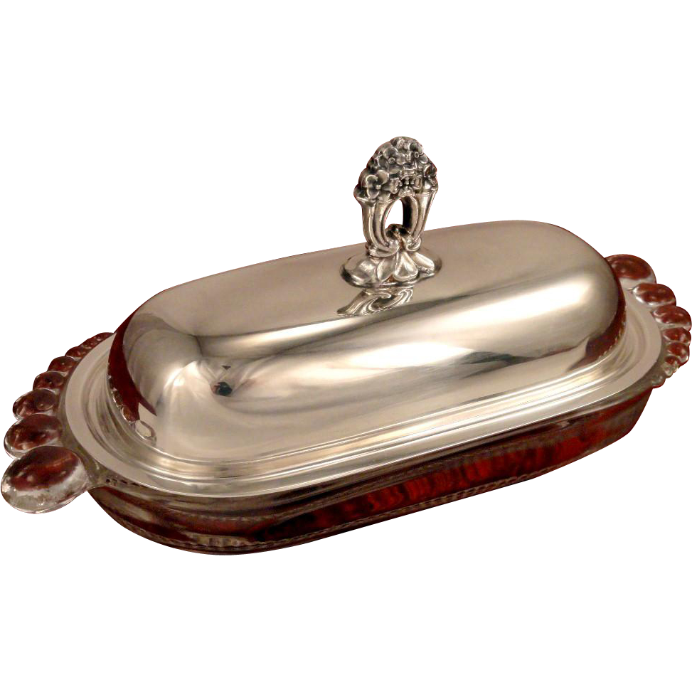 1847 ROGERS BROS ETERNALLY YOURS Silverplate Tomato