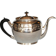 Early 19th Century Danish Sterling Silver Teapot