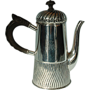 19th Century Sterling Silver Coffee Pot by Gorham