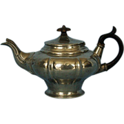 19th Century English Pewter Teapot by James Dixon & Sons