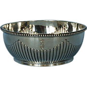 19th Century German 800 Silver Bowl by Friedlander Bros