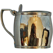 Early 19th Century English Sterling Silver Mustard Pot