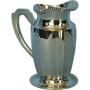 Turn of the Century Hungarian 800 Fine Silver Cream Jug