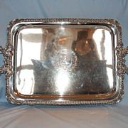 Early 19th Century English Old Sheffield Plate Two-handled Tea Tray