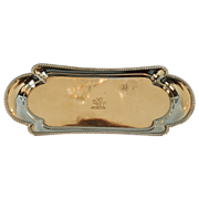 18th Century English Sterling Silver Snuffer Tray by Richard Morton & Co.