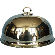 19th Century English Silverplate Meat Cover or Dome by Mappin & Webb
