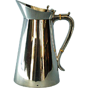 19th Century English Arts and Crafts Style Silverplate Jug by Bristol Goldsmiths Alliance