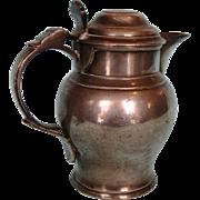 Late 18th Century English Pewter Ale Jug