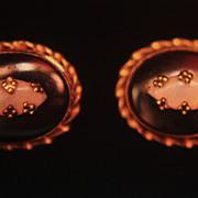 SALE 14K Onyx Opal Earrings Studs Posts Pierced
