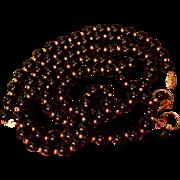 SALE 14K Black Onyx Set Necklace Bracelet Earrings Matching