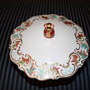 SALE Vintage Jacob Hertel Porcelain China Candy Dish Bowl Centerpiece