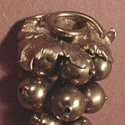 Big and Old Grape Cluster Dress Clip