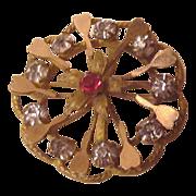 Victorian Watch Pin