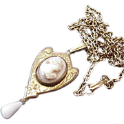 Victorian Revival Psyche Cameo Necklace