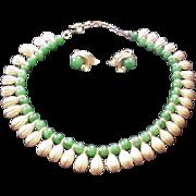 SALE Trifari Fringe Style Necklace