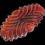 Large Bakelite Barrette