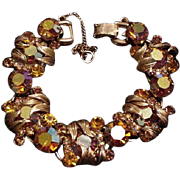 Juliana Topaz Rhinestone Bracelet
