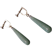 Peking Glass Earrings