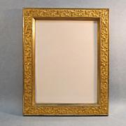 SOLD Victorian Aesthetic Gilt Frame 1880's