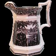 """Mulberry Ironstone """"Washington Vase"""" Pitcher"""