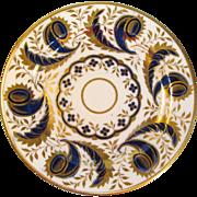 English Porcelain Tea Plate ca 1815
