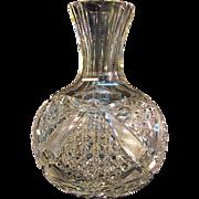 Cut Glass Carafe ca. 1900