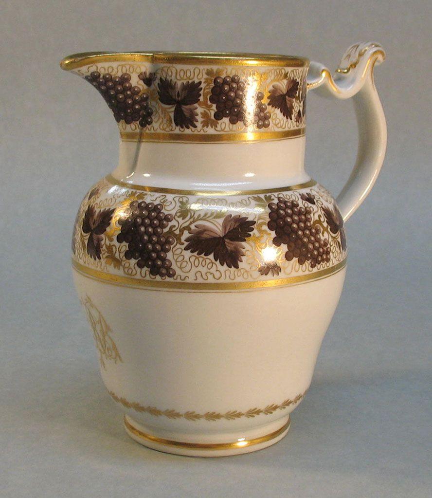Barr Period Worcester Porcelain Jug circa. 1800