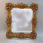 Vintage  Ornate Gilt Framed Mirror