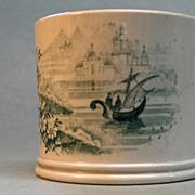 Transferware Child's Mug circa 1840