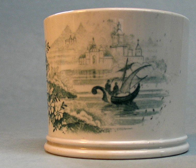 Transferware Child's Mug circa 1840