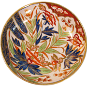 "English Porcelain ""Japan"" Pattern Saucer ca. 1810"