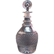 Blown 3-mold Decanter circa 1825-35