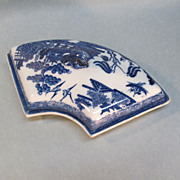 SALE Pearlware Supper Dish Section
