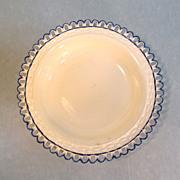 Creamware Pierced Edge Bowl ca. 1800