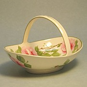 Wedgwood Basket form Dish, Artist Signed