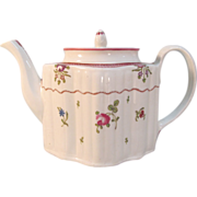 New Hall Silver Form Teapot ca. 1795