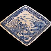 Spode Diamond Shape Dish ca. 1812