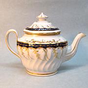 New Hall Porcelain Teapot ca. 1800