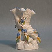 Victorian Porcelain Cornucopia Vase