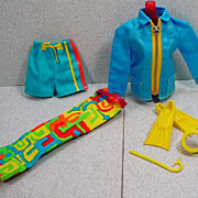 Mattel 1970 Ken Outfit, Shore Lines, Mint and Complete!